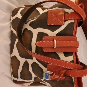 Dooney & Bourke Canvas Animal Print Bag